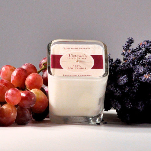Soy Candle - Lavender Cabernet