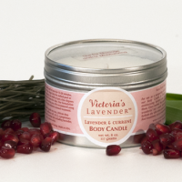 Lavender Currant Body Candle