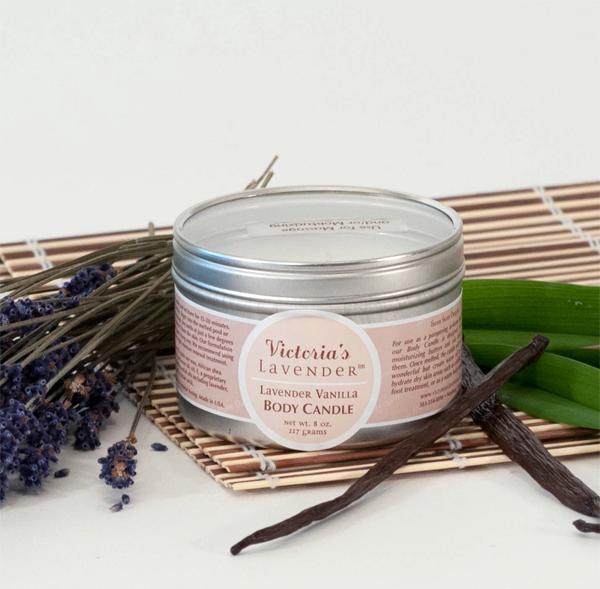 Lavender Vanilla Body Candle