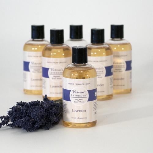 Lavender Organic Body Wash