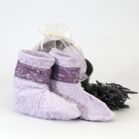 Lavender Spa Booties