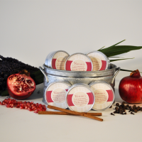 Pomegranate Spice Lotion Bar