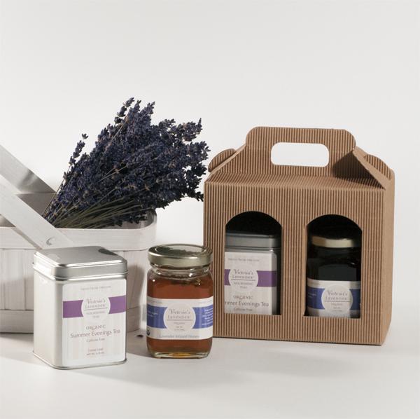 Organic Tea and Honey Giftbox