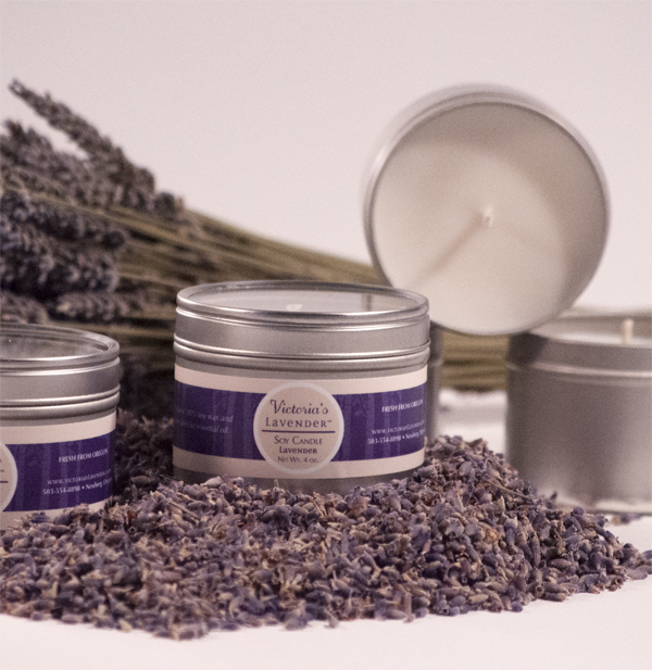 Travel Candle Lavender