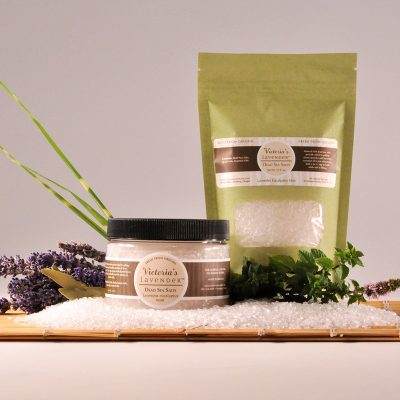 Bath Salts Lavender Eucalyptus Mint