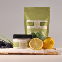 Bath Salts Lavender LemonSage