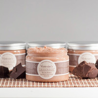 Lavender Chocolate Body Scrub