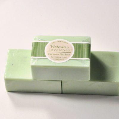 Lavender Lime Poppyseed Soap