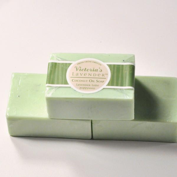 Lavender Lime Poppyseed Soap