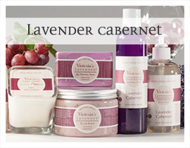 Lavender Cabernet lavender fragrance collection