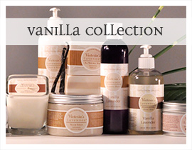 Vanilla lavender fragrance collection