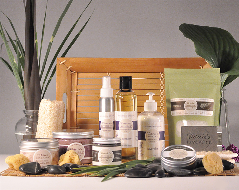 Victoria's Lavender Spa Products