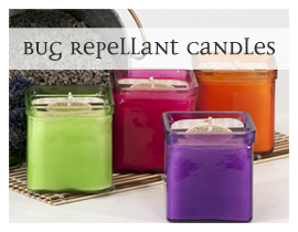Bug Repellant Candles