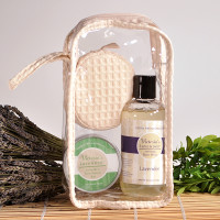 Lavender Body Wash and Foot Therapy Bar Gift Set