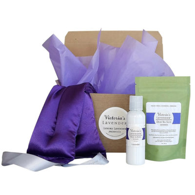 Luxury Lavender Neck Wrap Gift Set