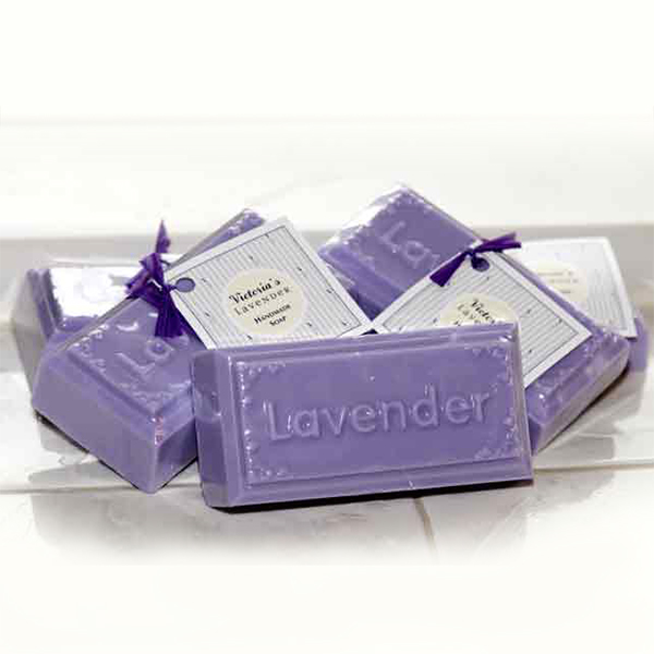 lavender imprint soap