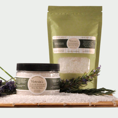 Dead Sea Bath Salts Lavender Rosemary