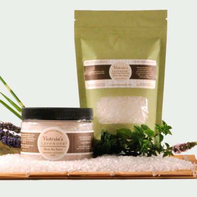 Dead Sea Bath Salts Lavender Eucalyptus Mint