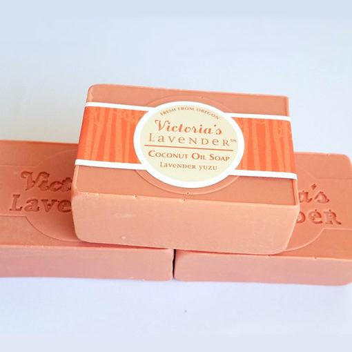 yuzu coconut oil soap
