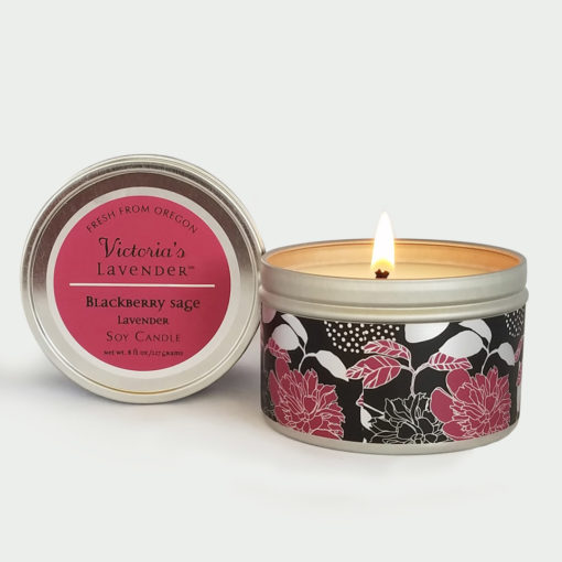 Blackberry Lavender Soy Candle