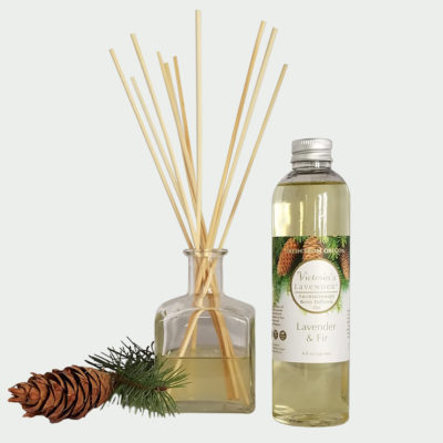 lavender & fir diffuser set