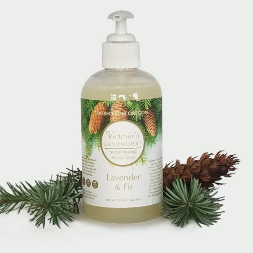 lavender & fir hand wash