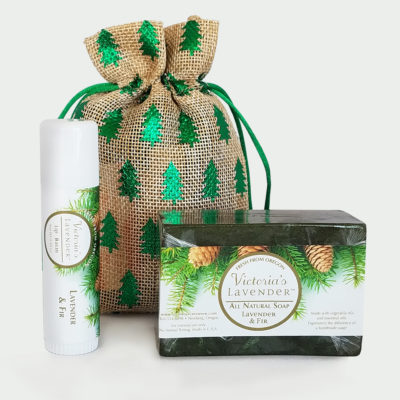 Fir Soap and Lip Balm Gift Bag