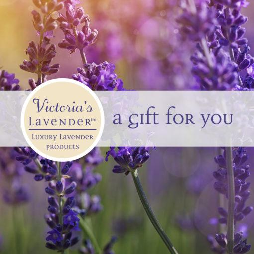 Victoria's Lavender Gift Card