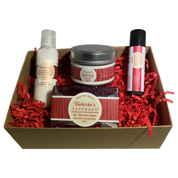 Pomegranate Spice Gift Set