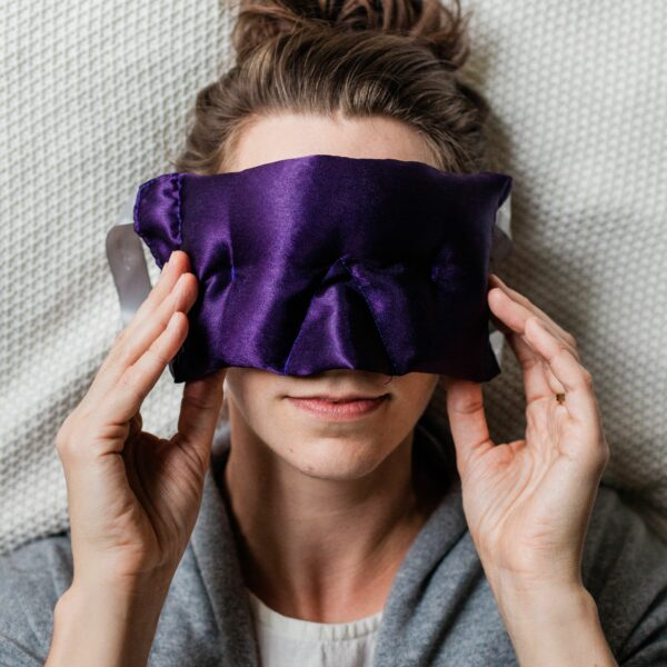 Victoria's Lavender Luxury Eye Pillow/Eye Mask