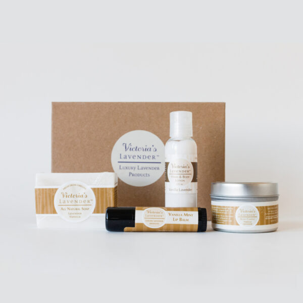 Vanilla Lavender Gift Set